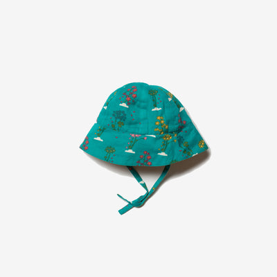 Spring Bloom Reversible Sunhat