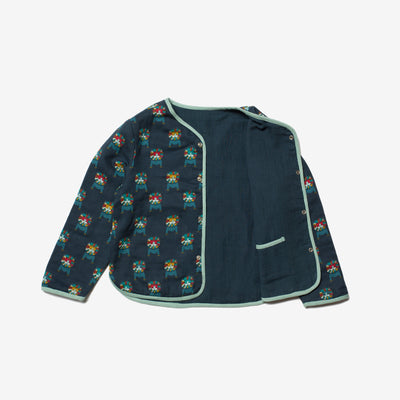 Rainbow Lions Reversible Spring Jacket