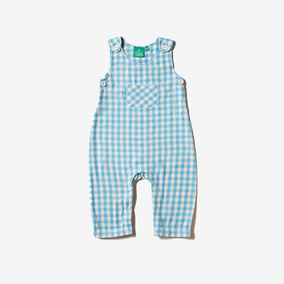 Corn Silk Check Explorer Dungarees