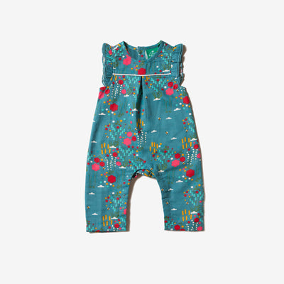 Wildflower Meadow Frill Romper