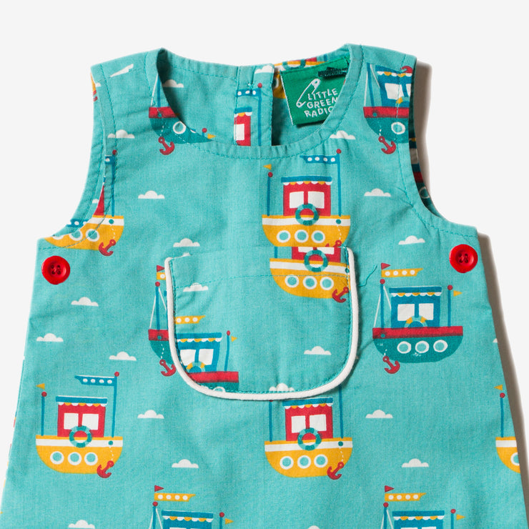 Lost At Sea Explorer Dungarees