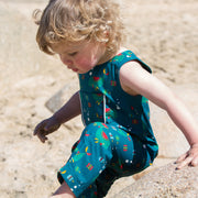Whale Of A Time Explorer Dungarees