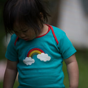 Beyond The Rainbow Applique T-Shirt