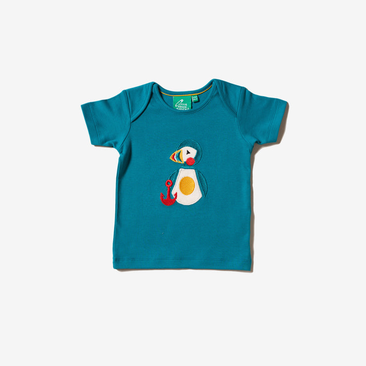 Puffin Island Applique T-Shirt