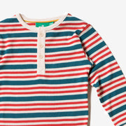 Nautical Rib Long Sleeve Everyday T-Shirt