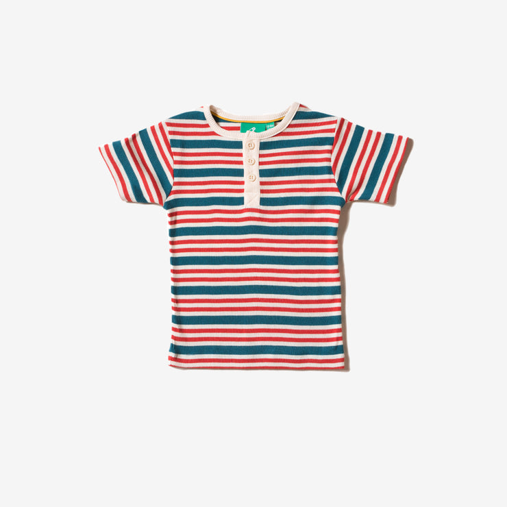 Nautical Rib Short Sleeve Everyday T-Shirt