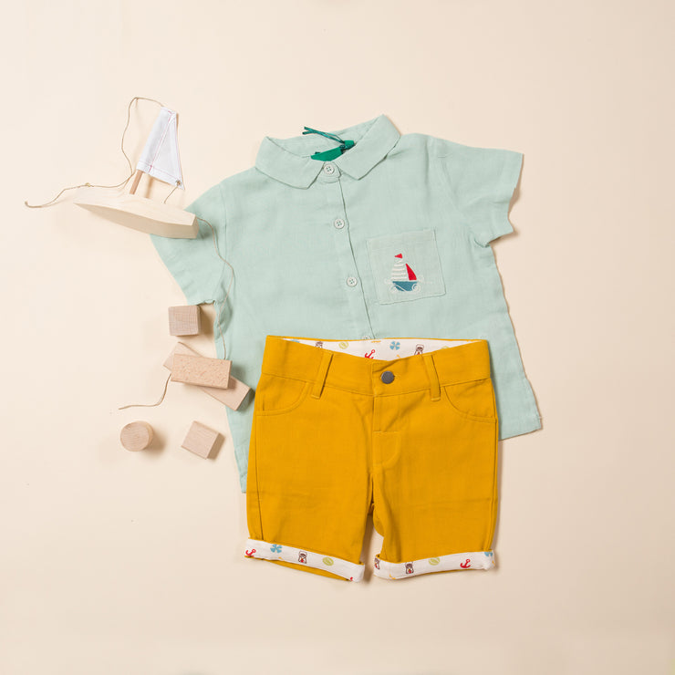 Powder Blue Sail Away Shirt
