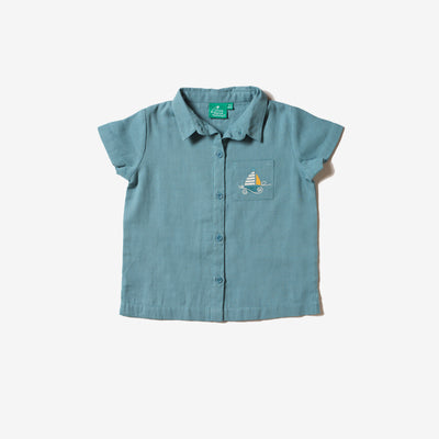 Storm Blue Sail Away Shirt