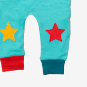 Peacock Blue Star Joggers