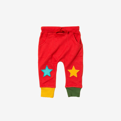 Bright Red Star Joggers