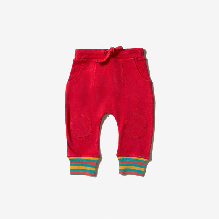 Red Rainbow Joggers