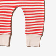 Red Striped Wriggle Bottoms