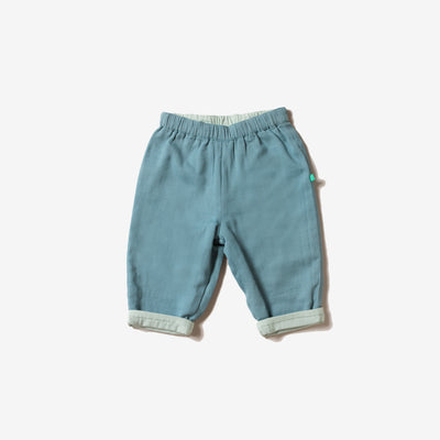 Day After Day Reversible Storm Blue Trousers