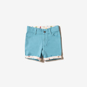 Corn Silk Blue Adventure Sunshine Shorts