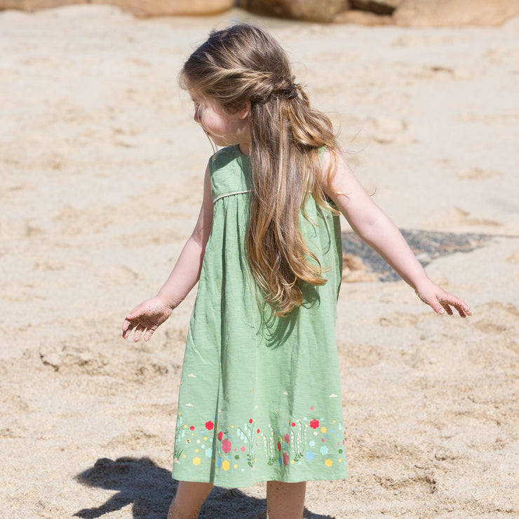 Wildflower Meadow Story Time Dress Cotton