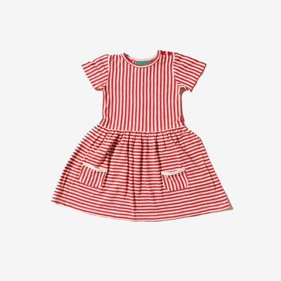 Red Stripes Forever Dress