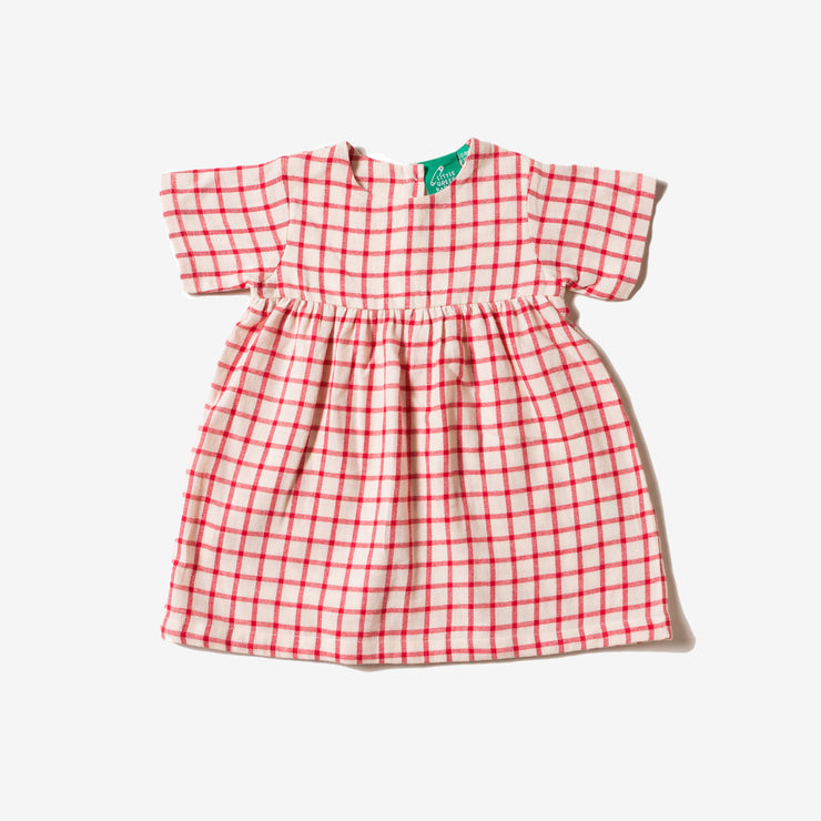 Red Check Summer Days Dress