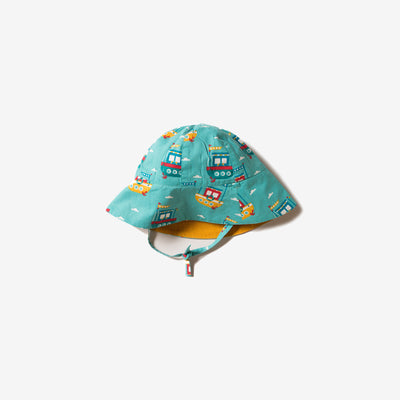 Lost At Sea Reversible Sunhat