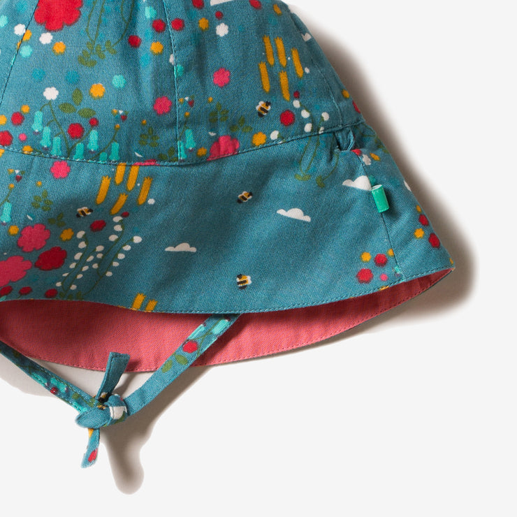 Wildflower Meadow Reversible Sunhat