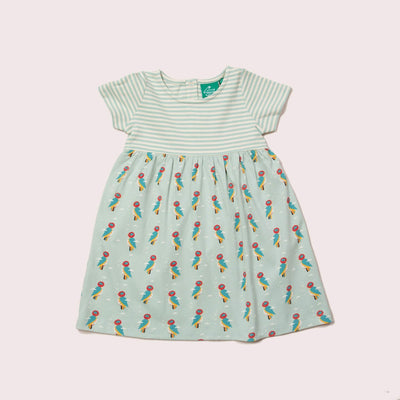 Little Woodpecker Interlock Easy Peasy Dress