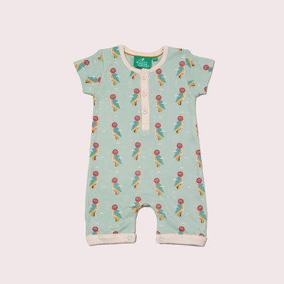 Little Woodpecker Organic Shortie Romper