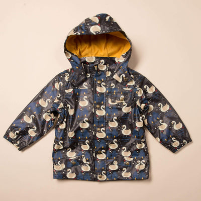 Night Swimming Waterproof Recycled Raincoat
