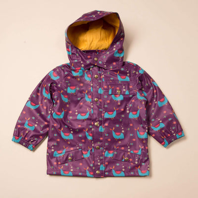 Whale of a Time Waterproof Recycled Raincoat