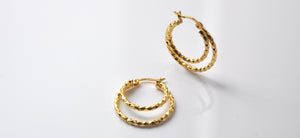 Laura Hoops - Goldplated