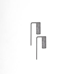 Flag Square Pin - Plateaux Jewellery