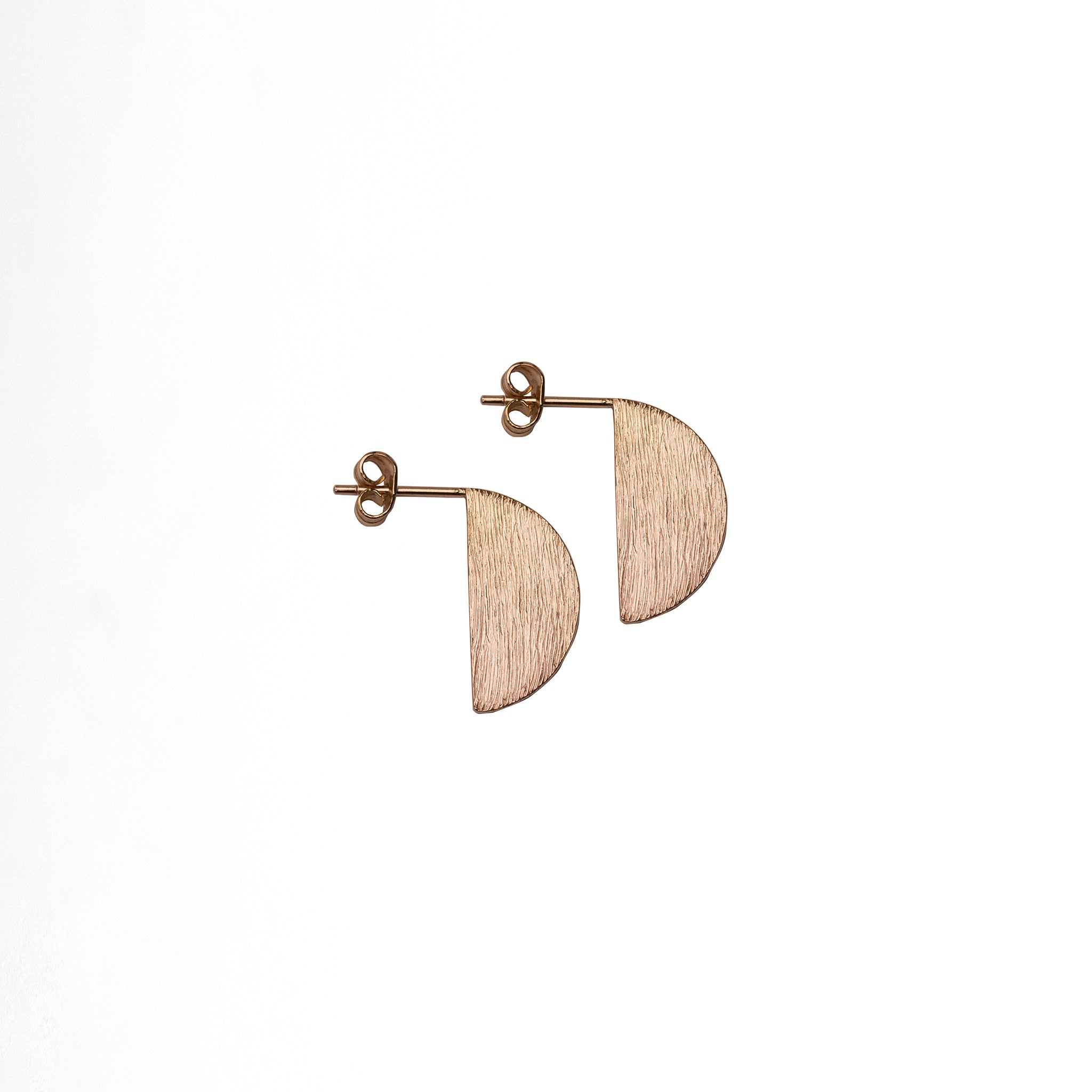 Flag Semicircle Earsticks - Plateaux Jewellery