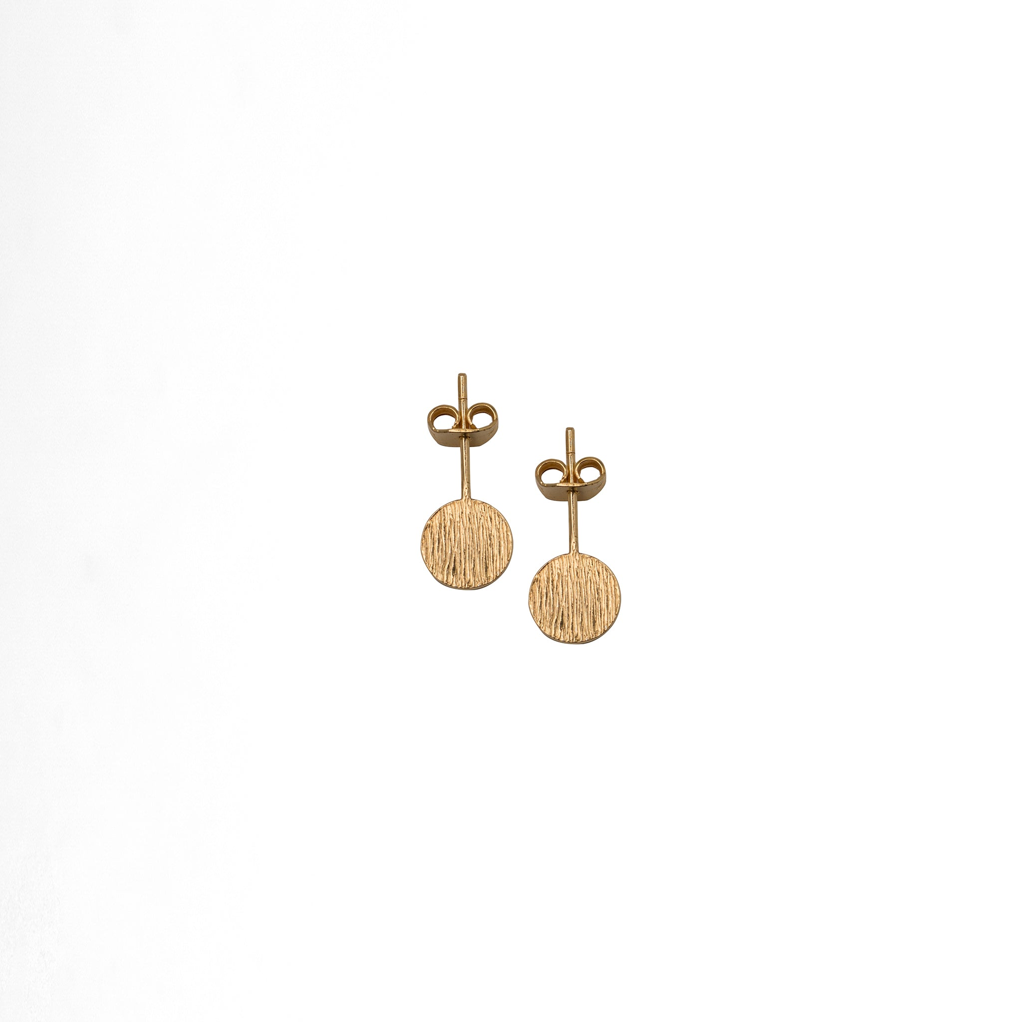 Flag Dot Earrings - Plateaux Jewellery