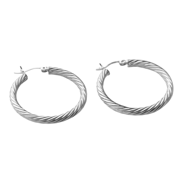 Curly Hoops Small