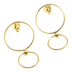Thin Double Circle - Plateaux Jewellery