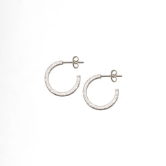 Round Hoop Earrings / Medium