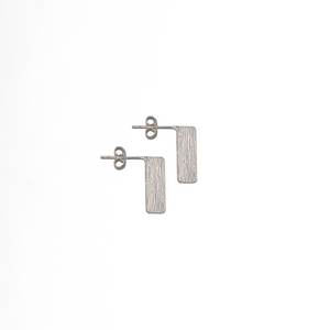 Flag Square Earsticks - Plateaux Jewellery