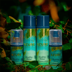 Azure Planet Friendly Beauty Hair Shine Strengthening Vegan Conditioner Shampoo Hair Shine Air Pollution Protection Spray - haircare