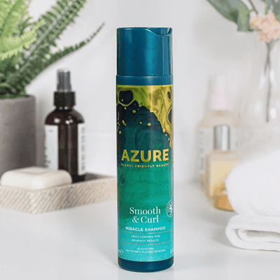 Azure Planet Friendly Control Curly Hair Shampoo - vegan haircare