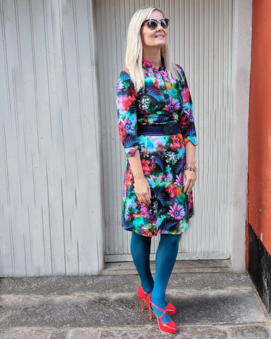 Dagens outfit | Annabell blomstret kjole