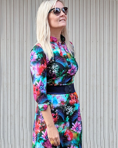 Dagens outfit | Annabell kjole flowery sea