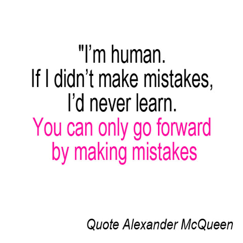 Fashion quote Alexander McQueen