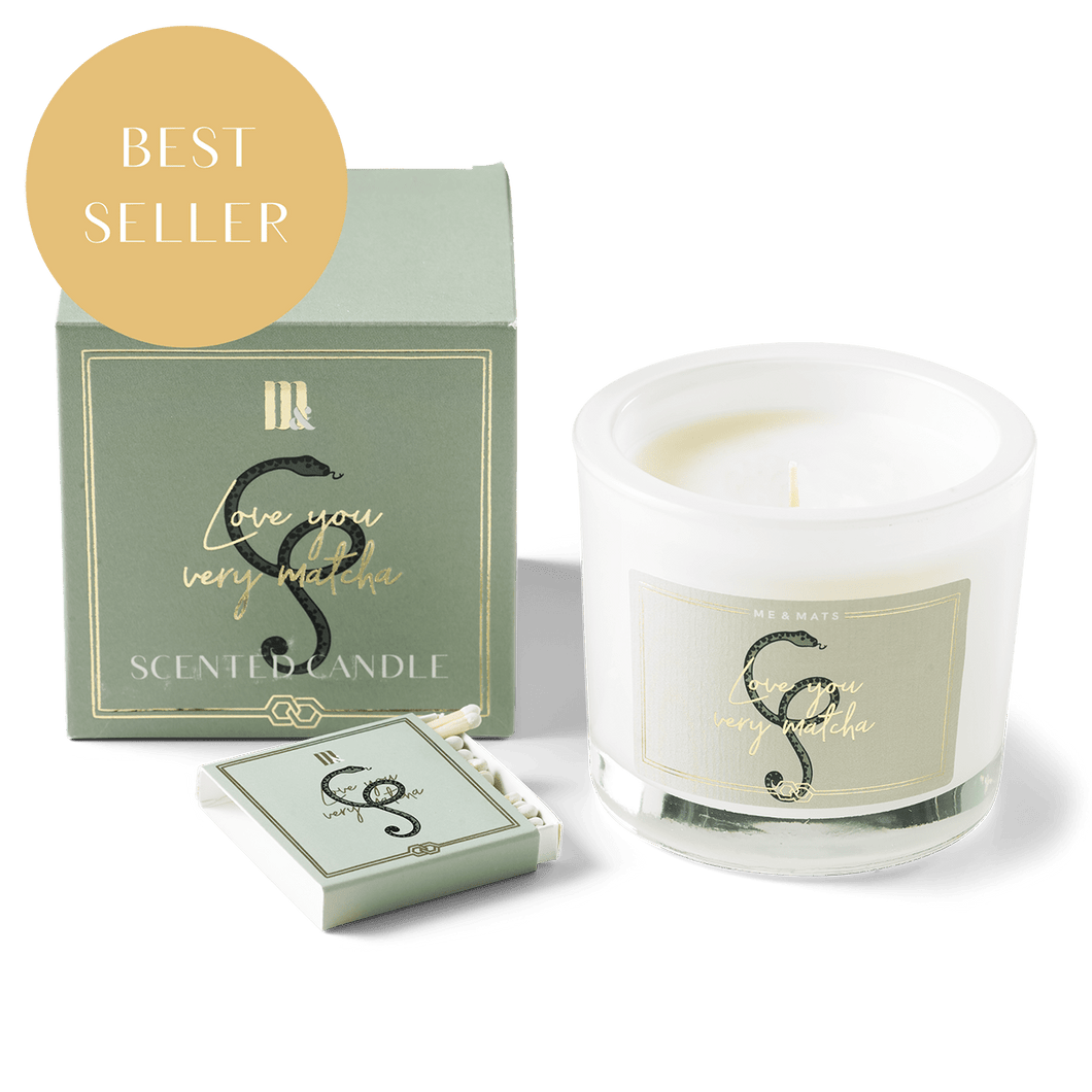 Luxury scented candle - Very Matcha