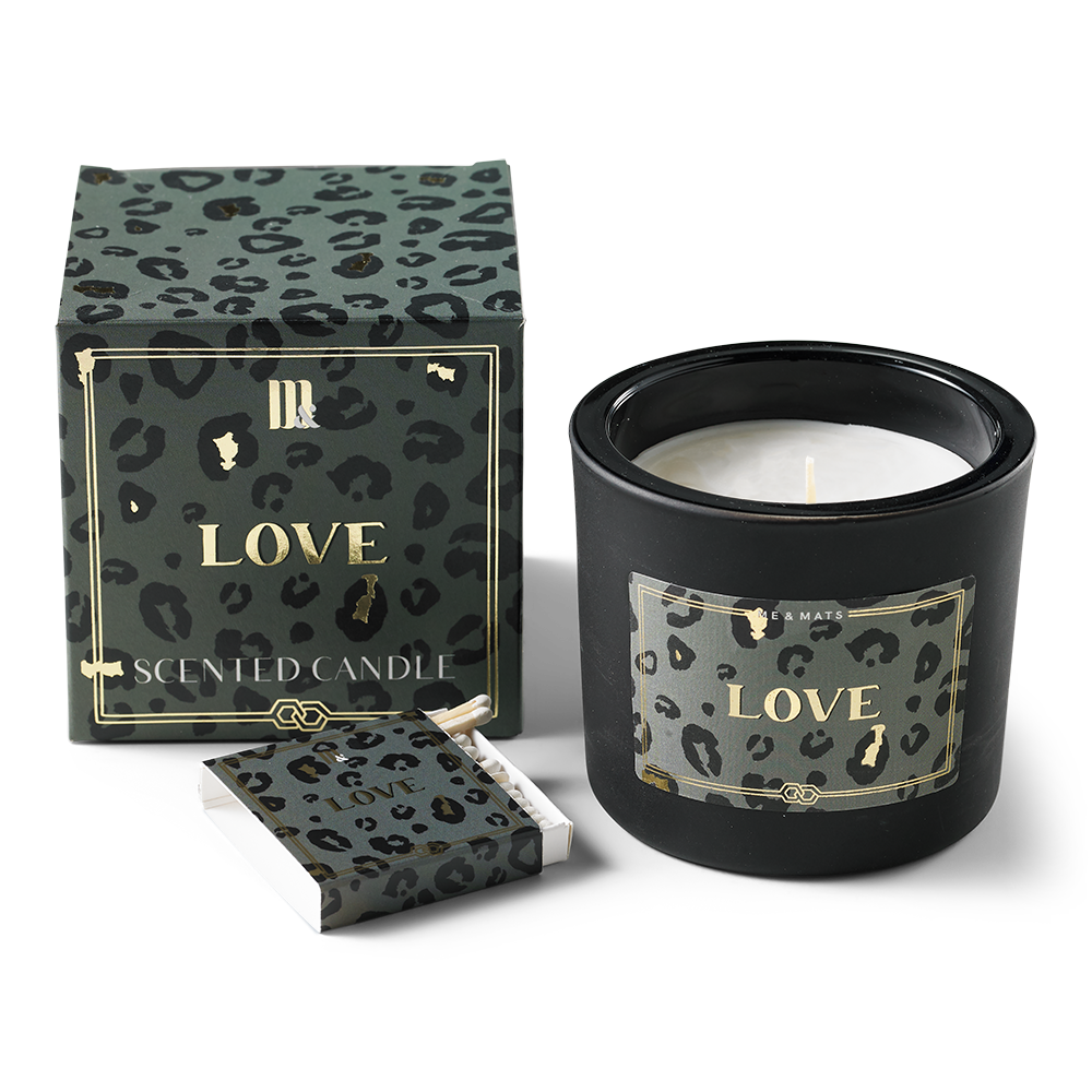 Luxury scented candle - Crazy Leopard