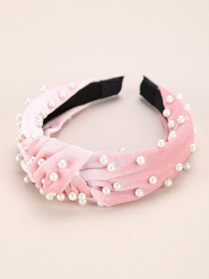 3pcs Faux Pearl Decor Hair Hoop Shop n Save Pakistan