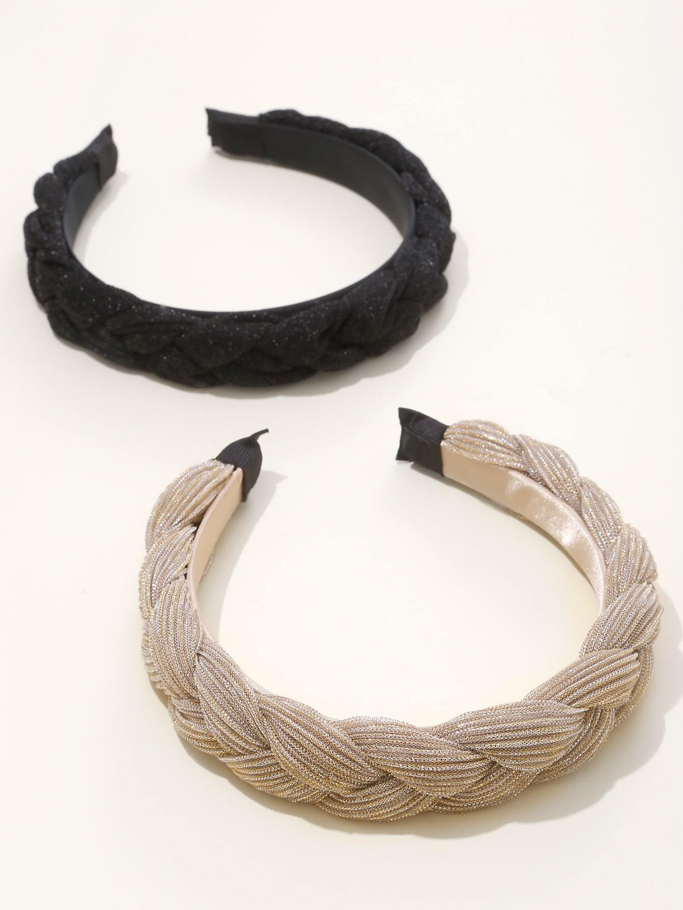 2pcs Braided Hair Hoop Shop n Save Pakistan