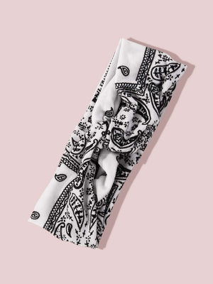 3pcs Paisley Pattern Headband Shop n Save Pakistan