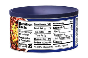 BUSH'S® Black Bean Bean Dip - Nutritional Facts
