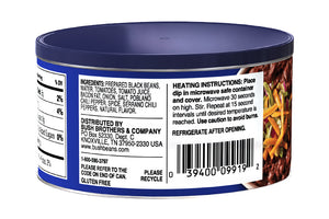 BUSH'S® Black Bean Bean Dip - Ingredients