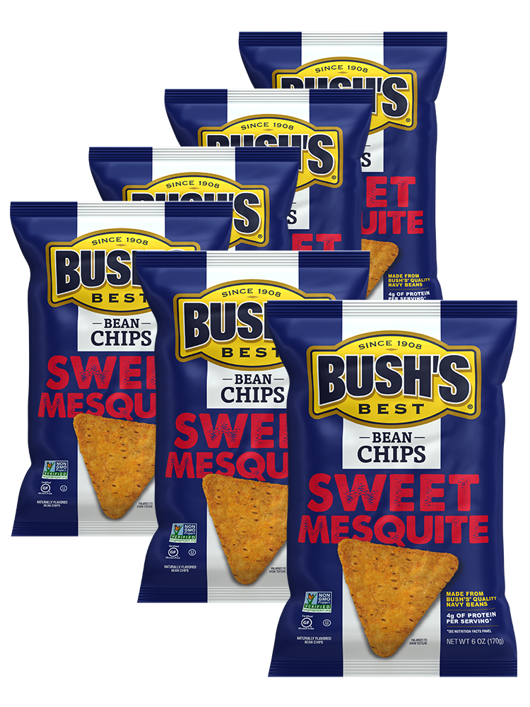 BUSH'S® Sweet Mesquite Bean Chips - Whole Pack