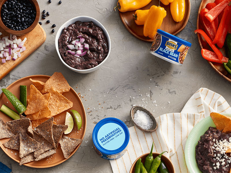 BUSH'S® Black Bean Bean Dip