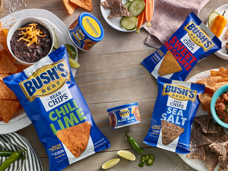 BUSH'S® Chips & Dips Sample Pack - Lifestyle
